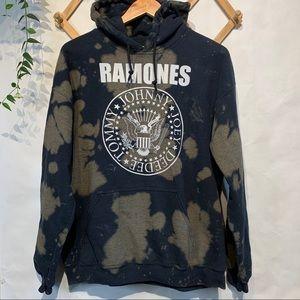 UO Ramones 1234 Tie Dye Hoodie